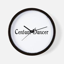 Centaur Dancer Wall Clock