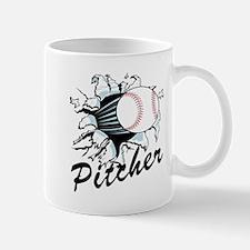 Fast ball Pitcher Mug