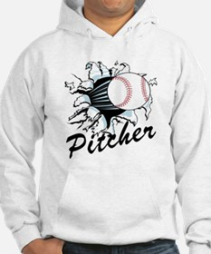 Fast ball Pitcher Hoodie