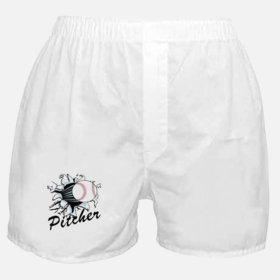 Fast ball Pitcher Boxer Shorts