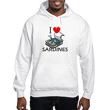 I Love Sardines Hoodie