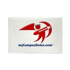 myCampusDates.com Rectangle Magnet