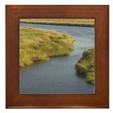 Plum island Framed Tiles