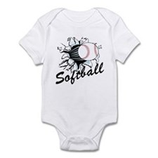 Softball Infant Bodysuit