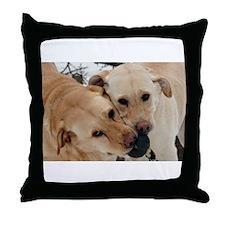 Cute Labrador Throw Pillow