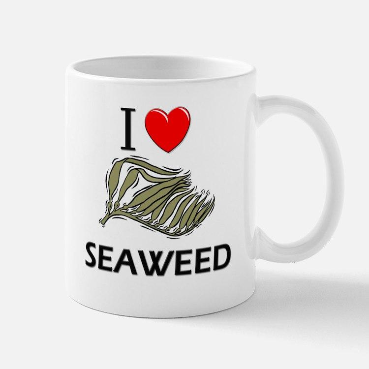 I Love Seaweed Mug