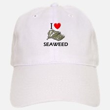 I Love Seaweed Baseball Baseball Cap