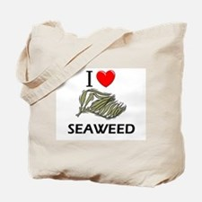 I Love Seaweed Tote Bag