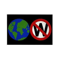 Earth, Not Bush (pack of 10 magnets)