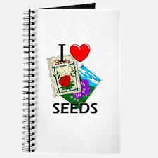 I Love Seeds Journal