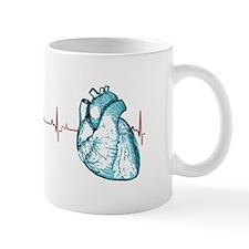 Cardiac EKG Small Mug