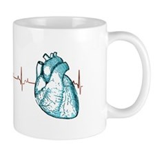 Cardiac EKG Small Mugs