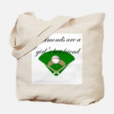 Diamonds are a girl's best fr Tote Bag