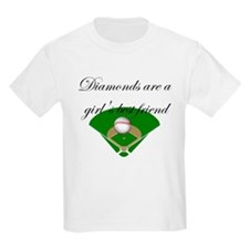 Diamonds are a girl's best fr T-Shirt