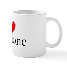 """I Love (Heart) Riccione"" Small Mug"