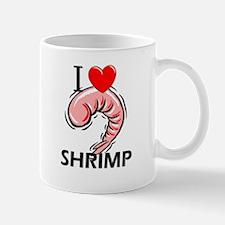 I Love Shrimp Mug