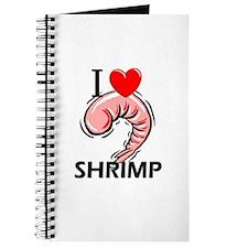 I Love Shrimp Journal
