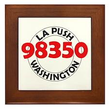 La Push 98350 Framed Tile