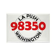 La Push 98350 Rectangle Magnet