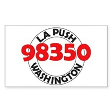 La Push 98350 Rectangle Decal