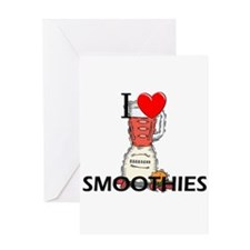 I Love Smoothies Greeting Card