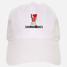I Love Smoothies Baseball Baseball Cap