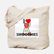 I Love Smoothies Tote Bag
