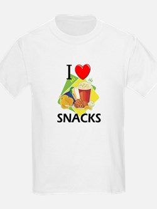 I Love Snacks T-Shirt