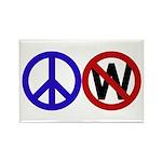 Peace Not Bush (10 magnets)