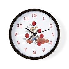 I love dodgeball Wall Clock