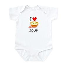 I Love Soup Infant Bodysuit