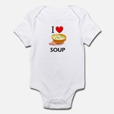 I Love Soup Infant Bodysuit