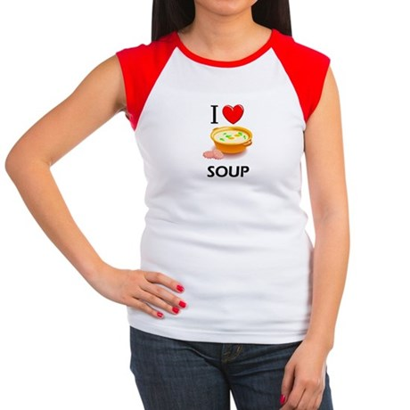 I Love Soup Women's Cap Sleeve T-Shirt