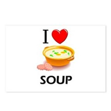 I Love Soup Postcards (Package of 8)
