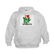 I Love Spinach Hoodie