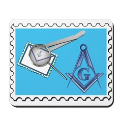 Stamp Collecting Mason Mousepad