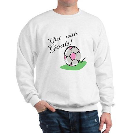 Girl with Goals Sweatshirt