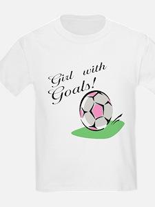 Girl with Goals T-Shirt