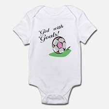 Girl with Goals Infant Bodysuit
