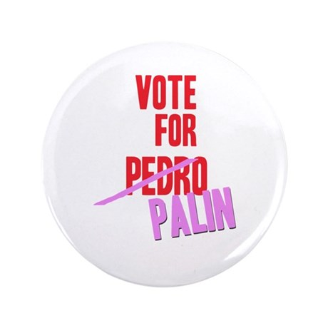 "VOTE FOR PALIN 3.5"" Button"