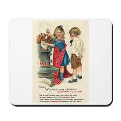 Thanksgiving Blessings Mousepad