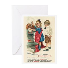 Thanksgiving Blessings Greeting Card