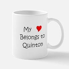Cute Heart quinton Mug