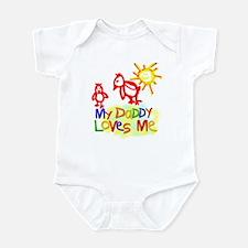 My Daddy Loves Me (Chicks) Infant Bodysuit