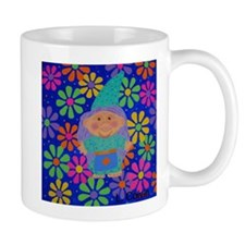 Flower Power Troll Doll Mug
