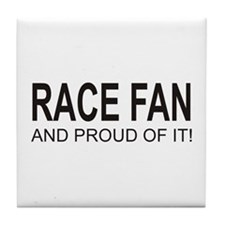 The Proud Race Fan Tile Coaster