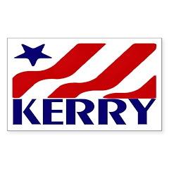 John Kerry (Blue Star Bumper Sticker)