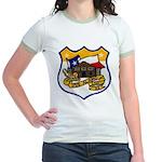 USS ALAMO Jr. Ringer T-Shirt
