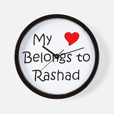 Cool Rashad Wall Clock