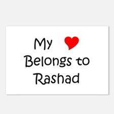 Funny Rashad Postcards (Package of 8)